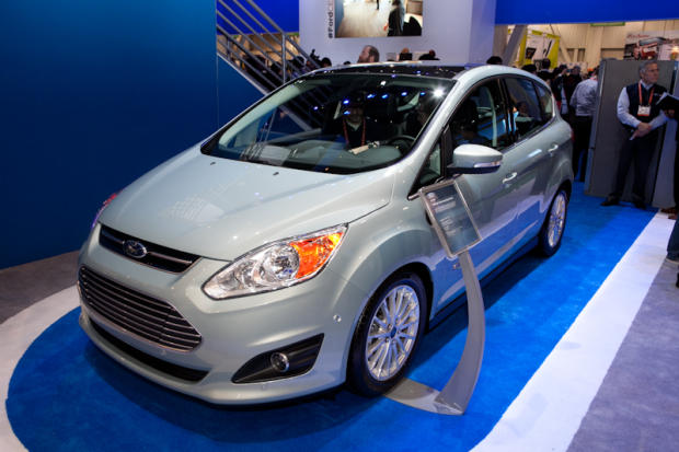 C-max Energi was named the CES Official Car for 2013